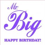 Birthday Card for Mr Big